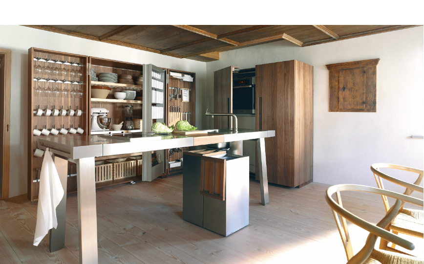Their Philosophy Of U201cThe Kitchen Is For Cookingu201d Emphasizes Authenticity In  Function And Materials And A Reduction To The Essentials.